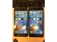 I Phone 6 plus 16GB voda & lebara network Good Condition Black clour