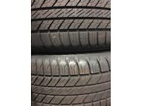 GENUINE LANDROVER ALLOY WHEELS AND TYRES