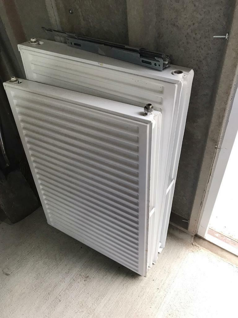 Radiators x 2in Croydon, LondonGumtree - I have 2 radiators only about a year old. Recently had a refurb and needed different sizes1 is 600 x 800 single 1 is 600 x 900 double Comes with brackets Collection from croydon