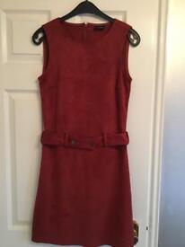 Vila Rust Swede Dress Size 8