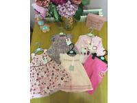 Baby girls clothes bundle. All brand new.