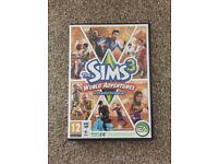 Sims 2/3/3 world adventures