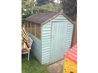 Free Shed 7' x 5' - already flat packed for collection