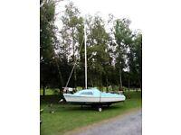 17ft Mariner sail boat