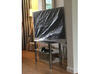 40'' SAMSUNG LCD TV with 3 TIER GLASS STAND - GOOD CONDITION