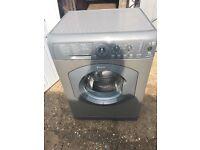 Hotpoint WML540 6kg 1400 Spin Washing Machine in Silver #3791