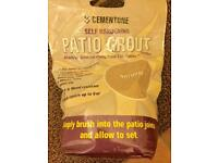 3 bags Bostik Cementone self-hardening Patio Grout in Natural