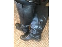 Original Leather Ugg Boots Size 5.5 £20