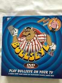 Original Bullseye TV game.
