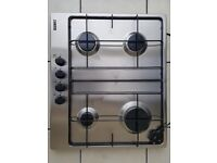 Zanussi stainless steel gas hob - NEW, NEVER USED