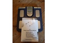 OMRON BF511 Full Body Composition/ Body Fat Monitor with 8 sensors for hand-to-foot measurement