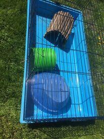 Indoor rabbit / Guinea pig cage plus extras for sale
