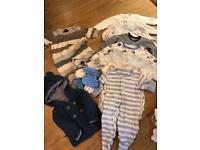 Tiny baby clothes bundles