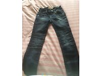 Girls designer jeans