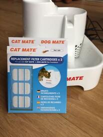 Cat Mate mains operated pet drinking fountain