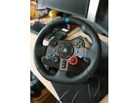 Logitech G29 Wheel + Shifter
