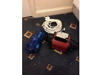 Grundforce Shower Pump - Twin Outlet
