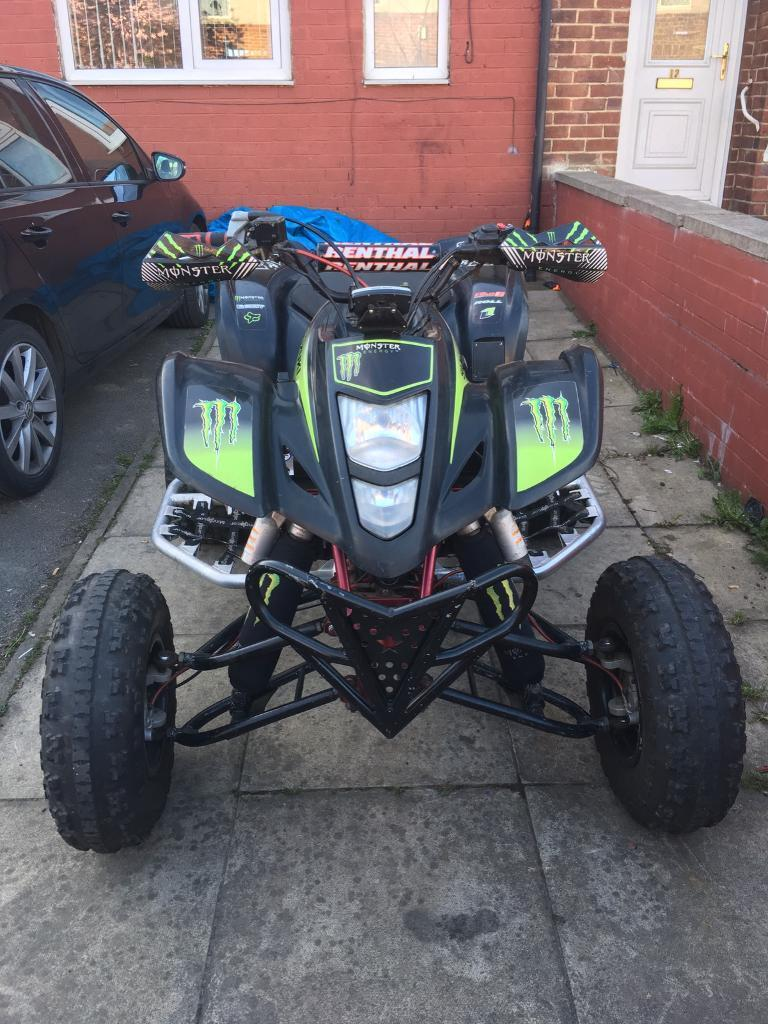 suzuki 2007 ltz 400 road legal quad not raptor 660 700r yfm yfz 350 ltr 450 in bradford. Black Bedroom Furniture Sets. Home Design Ideas