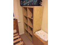 Ikea free standing shelving unit for sale