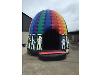 Bouncy Castle Disco Dome Brand New