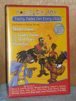 Happily Ever After: Fairy Tales for Every Child (DVD, 2004) animated - Fairies Movies For Kids