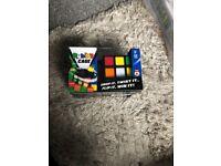 Rubix cage game toy