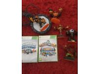 Xbox 360 Skylanders Giants and Spyros Adventure Games