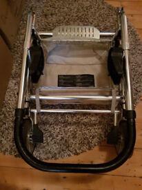 Mamas and Papas pram base with car seat adapters