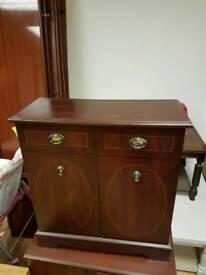 Small mahogany cupboard