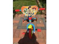 Bike 10inch toy story with stabilisers