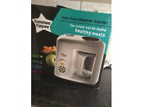 BRAND NEW! Tommee tippee steamer blender