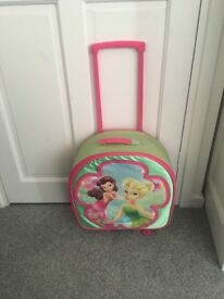 Children's tinkerbell suitcase