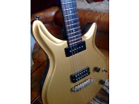 JJ Special Gold Top, Electric guitar, Brazilian mahogany, handmade in UK boutique. Rare beaty