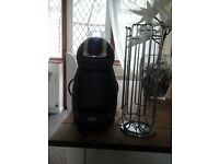 Dolce gusto pod machine and pod carrier