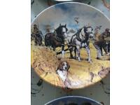 16 Wedgwood and Limoges plates