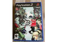 Persona 3 FES Playstation 2 PAL. Rare