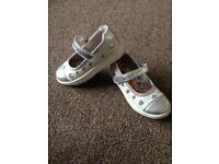 Girls skittles shoes size 10