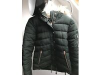 Quilted ladies jacket size 8