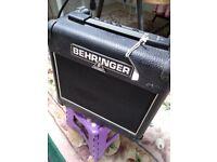 Behringer Vintager amp