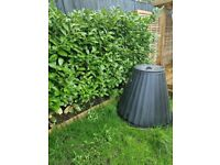 Free large black compost comtainer