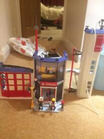 PLAYMOBIL FIRE STATION 4819