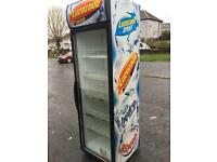 Lucozade single door fridge/Drinks chiller for sale