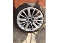 Audi A5 alloy wheels 5x112 sline one only