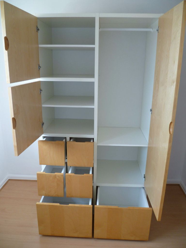 ikea rakke wardrobe good condition in wandsworth. Black Bedroom Furniture Sets. Home Design Ideas
