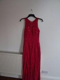 Yunire Long Pink Dress Medium Size