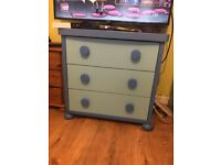 Chest of drawers and wardrobe Ikea