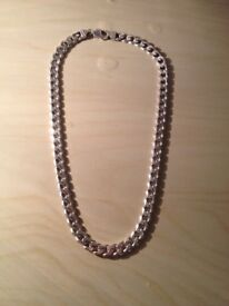 Silver Necklace heavy, Christmas present