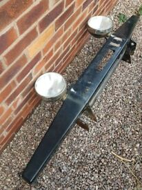 Land rover discovery 2 td5 front winch bumper