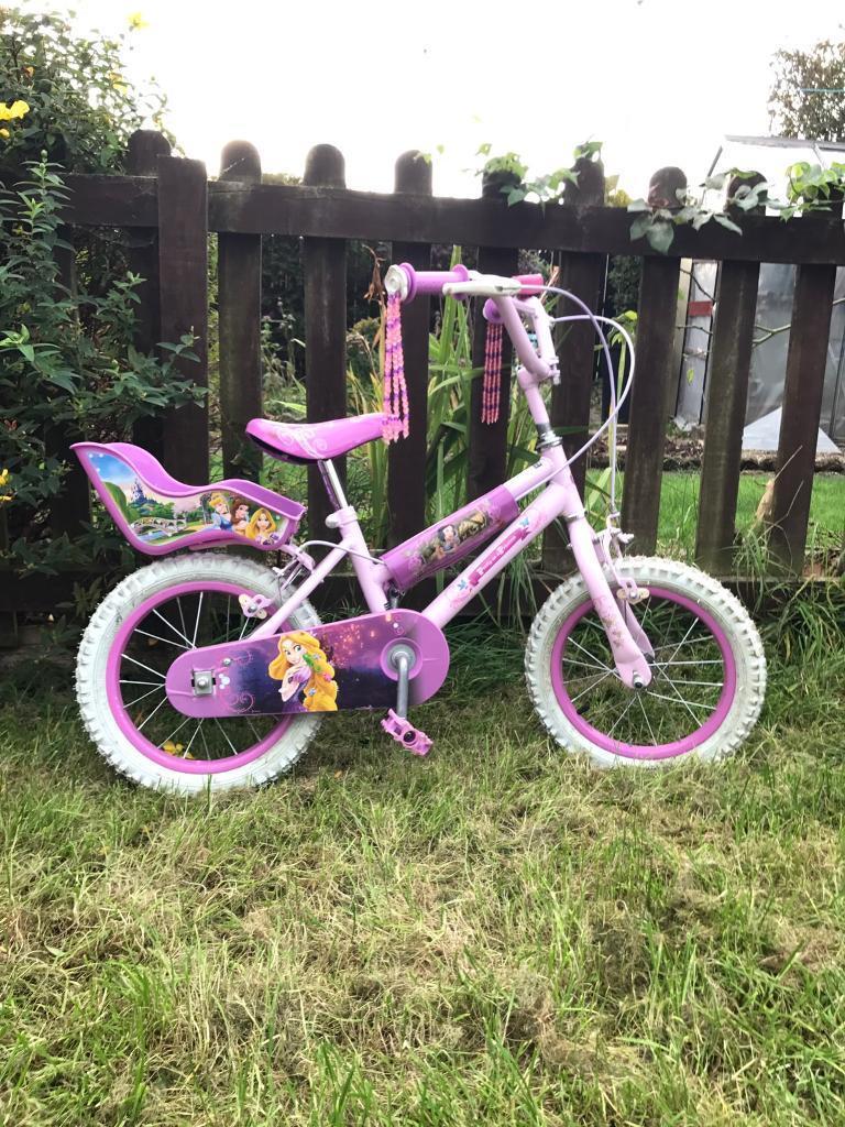 Girls Disney Princess bike 14'