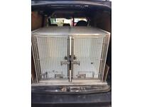 Double dog cage / crate
